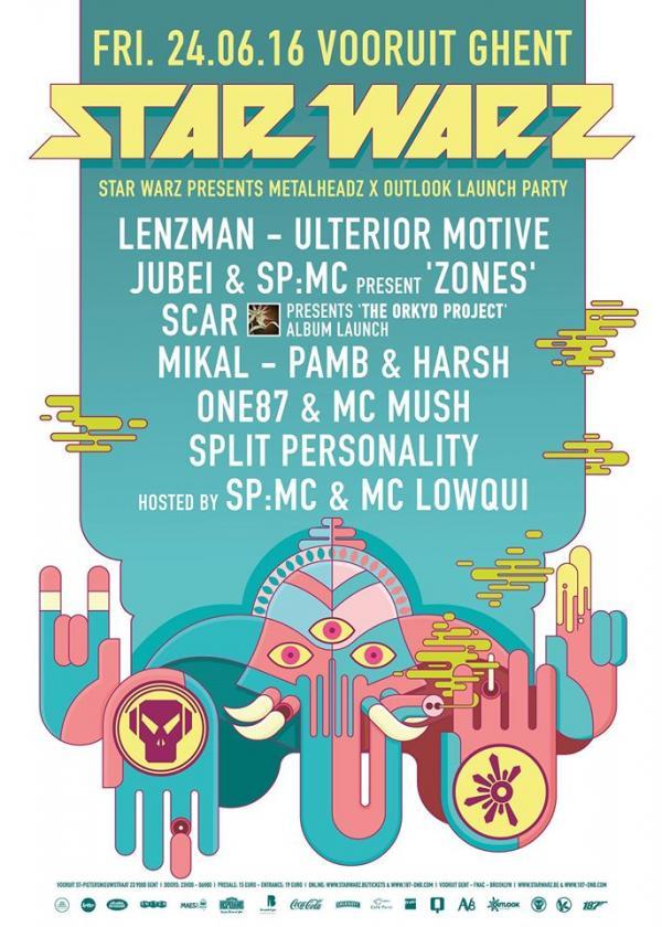 Nieuws afbeelding: Star Warz & Outlook Festival present Metalheadz