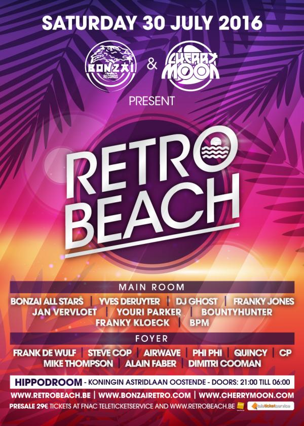 Nieuws afbeelding: Cherry Moon & Bonzai Records present Retro Beach