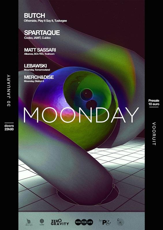 Nieuws afbeelding: Feesten op Butch op een maandag? Dat kan op Moonday!