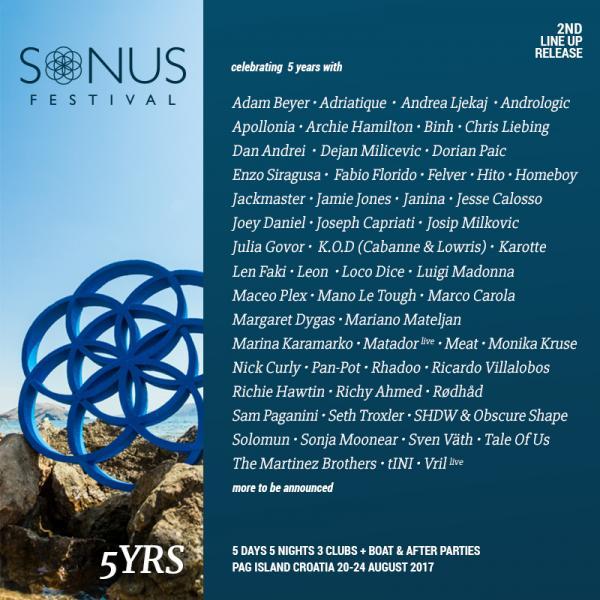 Nieuws afbeelding: Sonus Festival lanceert tweede lading namen!