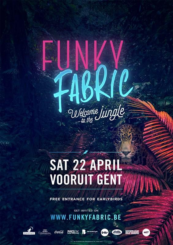 Nieuws afbeelding: Funky Fabric: Welcome to the Jungle!