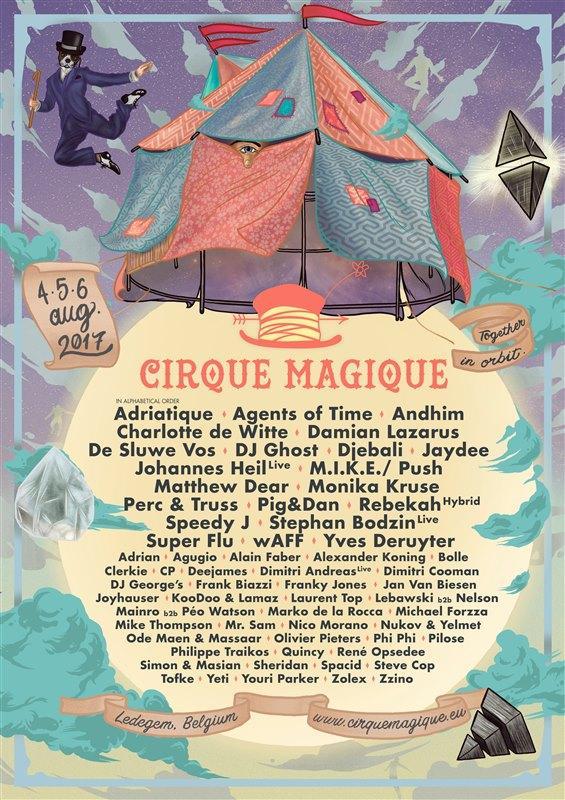 Nieuws afbeelding: 3de editie van Cirque Magique