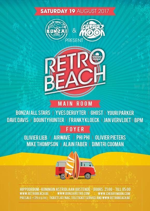 Nieuws afbeelding: Bonzai Records en Cherrymoon presenteren Retro Beach 2017