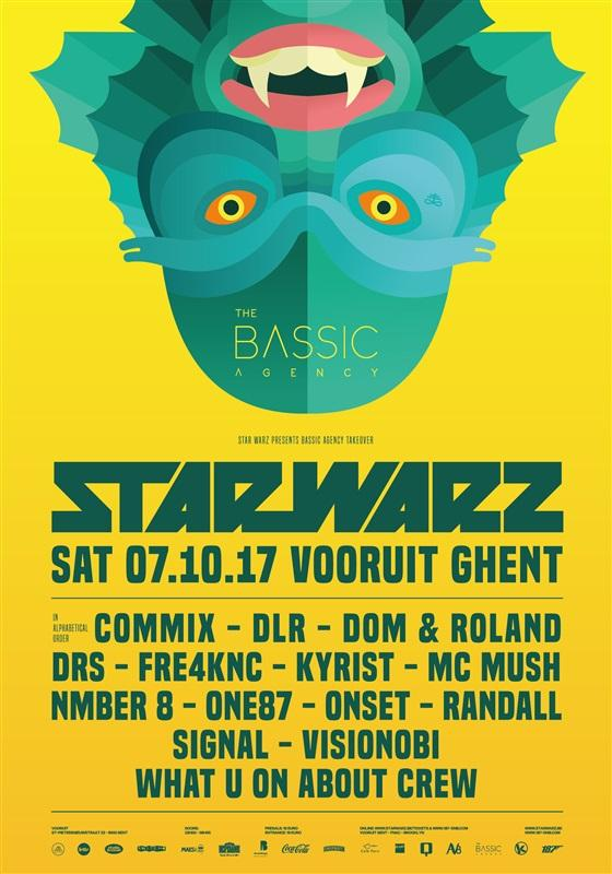 Nieuws afbeelding: Star Warz presents 'The Bassic Agency Takeover'