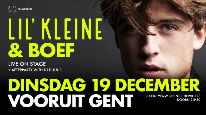 Nieuws afbeelding: Lil'Kleine & Boef Live on Stage!