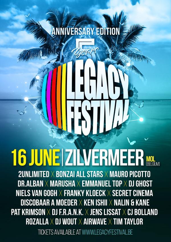 Nieuws afbeelding: 5 Jaar Legacy Festival!