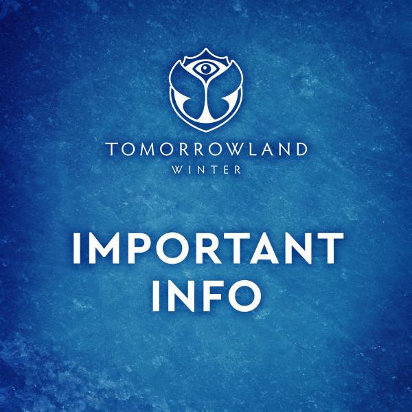 Nieuws afbeelding: Tomorrowland Winter 2020 afgelast