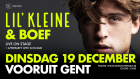 Nieuws thumbnail: Lil'Kleine & Boef Live on Stage!