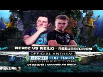 Release Neroz & Neilio - Resurrection (Heart for Hard 2013 Anthem)
