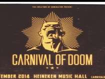 Trailer Carnival of Doom - Line-up